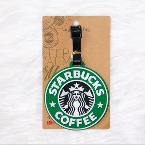 Starbucks Logo Luggage Tag